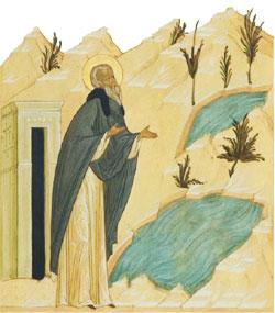 Молитва преподобного Ферапонта в Белозерье
