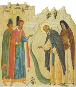 Основание Лужецкой обители в честь Рождества Пресвятой Богородицы