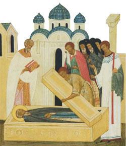 Преставление преподобного Ферапонта